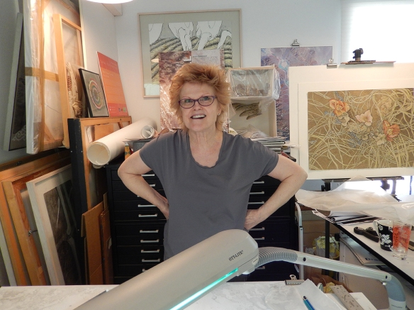 Mary Shindell talking about her newest drawing project.